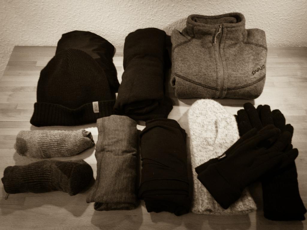 Packliste Winterkleidung
