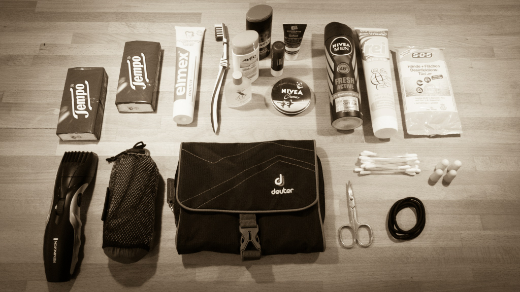 Packliste Hygieneartikel