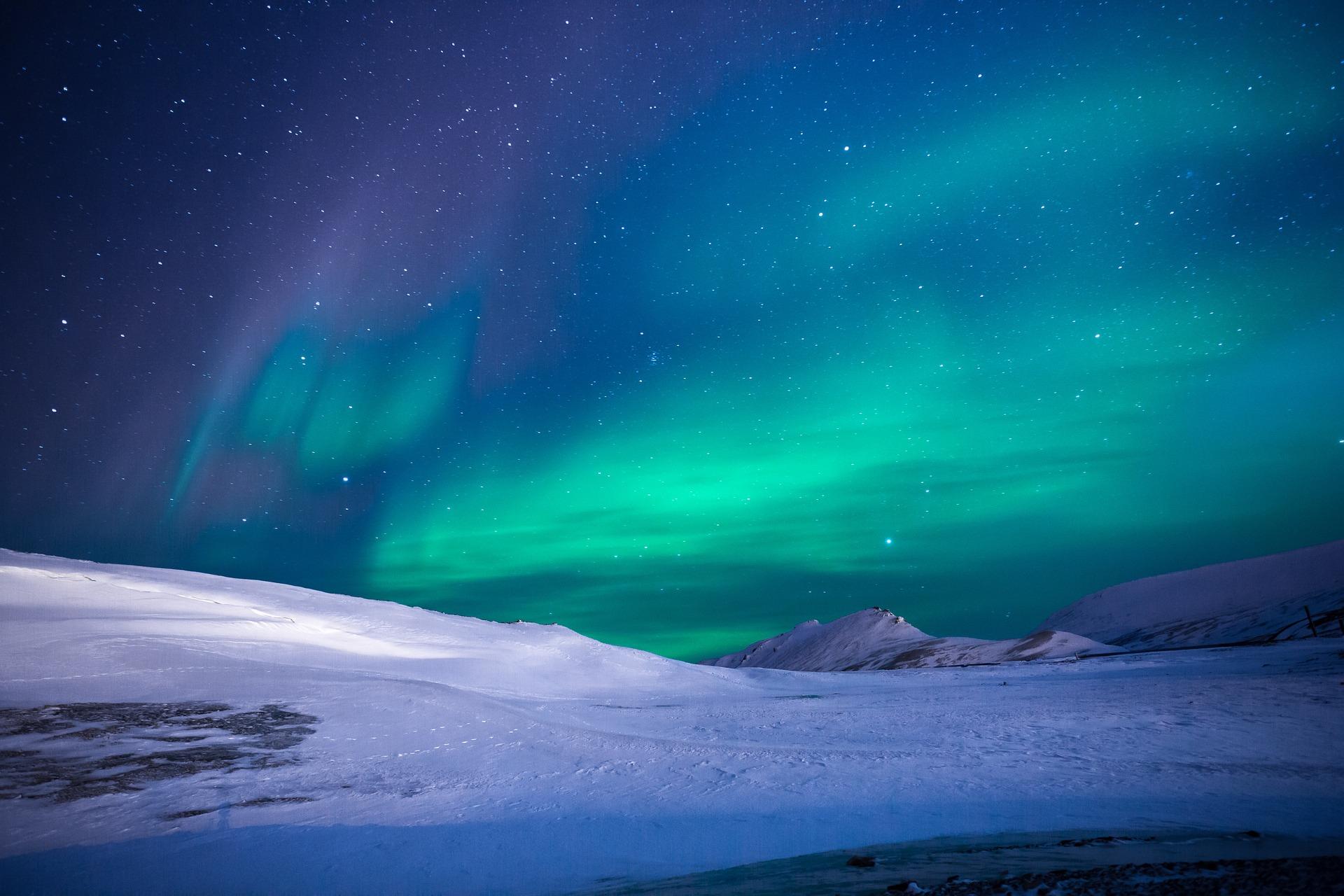 Polarlicht (Aurora Borealis)