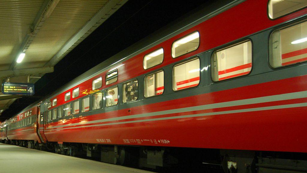 Schlafwagen in Norwegen
