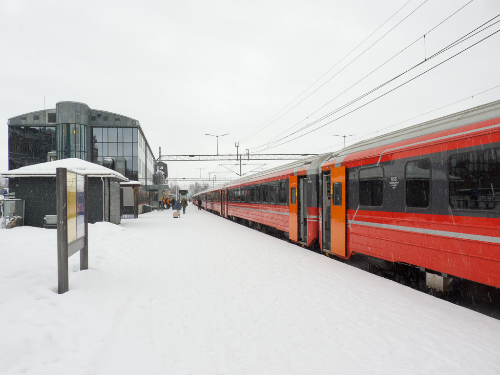 Tag 08: Ankunft in Lillehammer