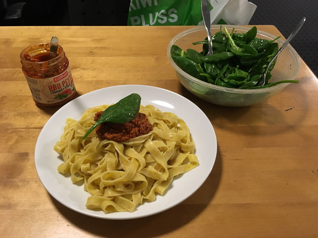 Tag 08: Abendessen