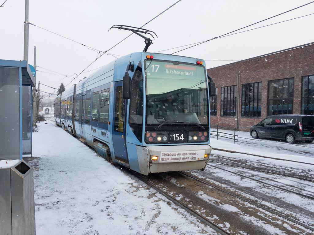Tag 10: Los geht's mit der Tram