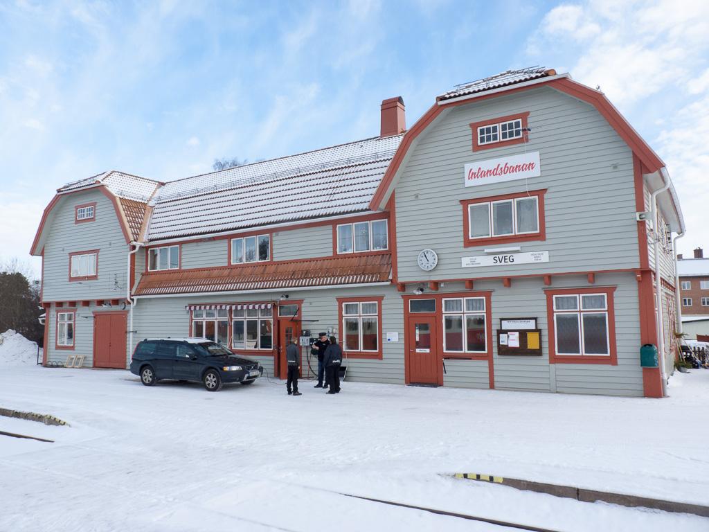 Tag 13: Bahnhof Sveg