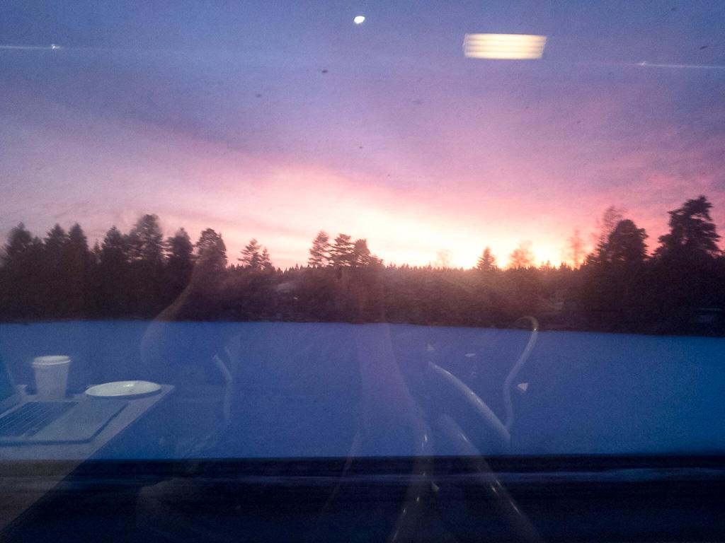 Tag 14: Sonnenuntergang