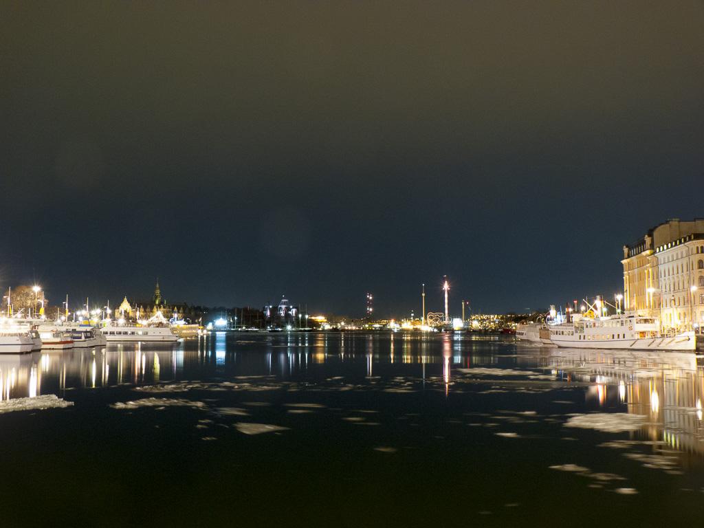 Tag 14: Erste nächtliche Eindrücke von Stockholm