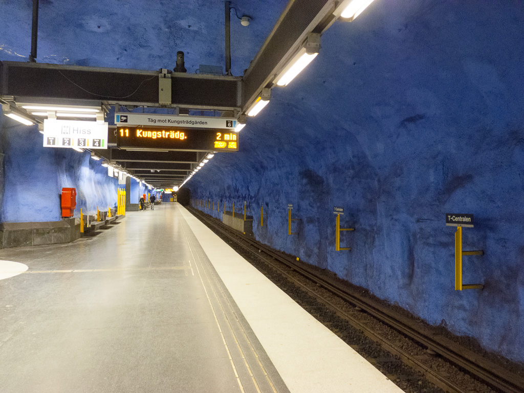 Tag 15: In der Tunnelbanan