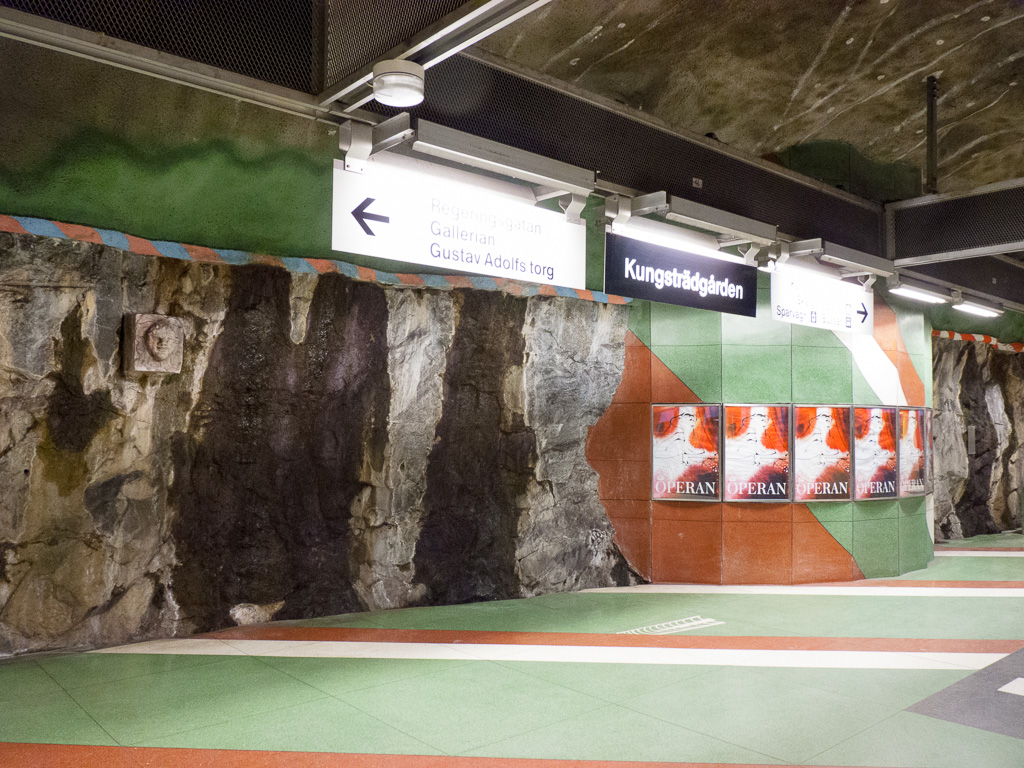 Tag 15: In der Tunnelbanan