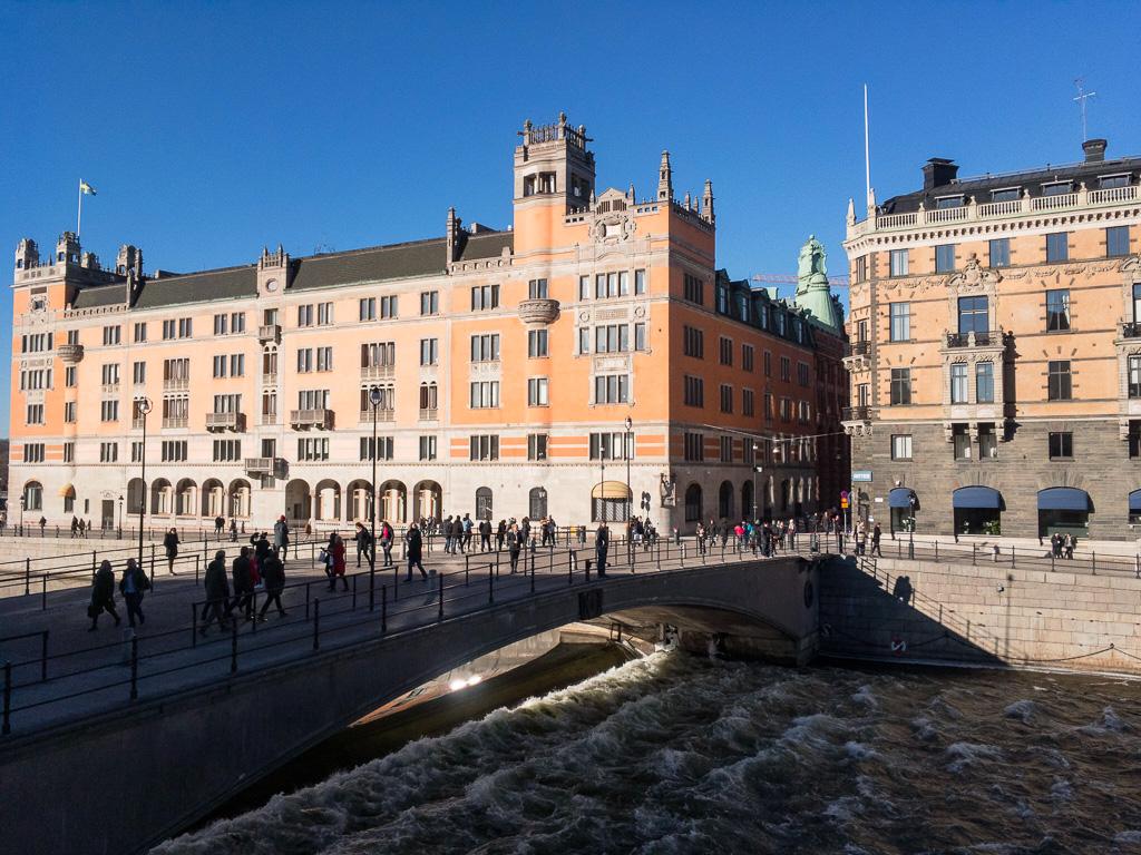 Tag 16: Sonniges Stockholm