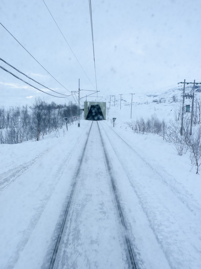 Tag 17: Auf der Erzbahn bis Riksgränsen