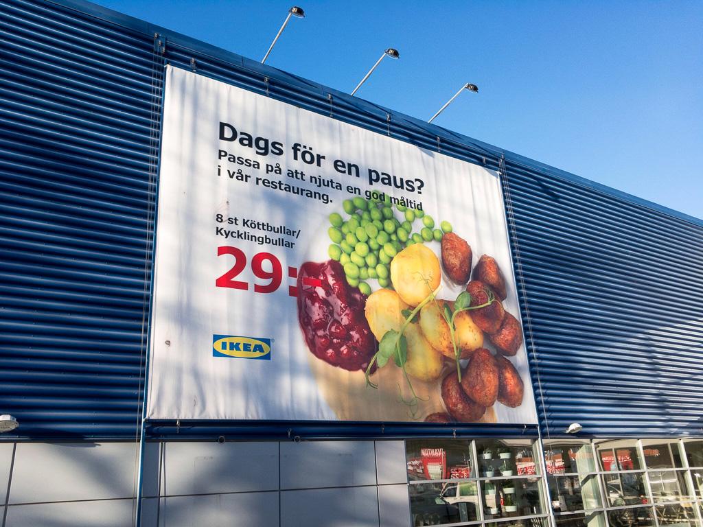 Tag 16: Zum Mittagessen zu IKEA