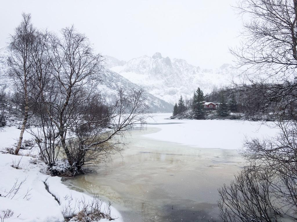 Tag 19: Schneespaziergang zum Store Kongsvatnet