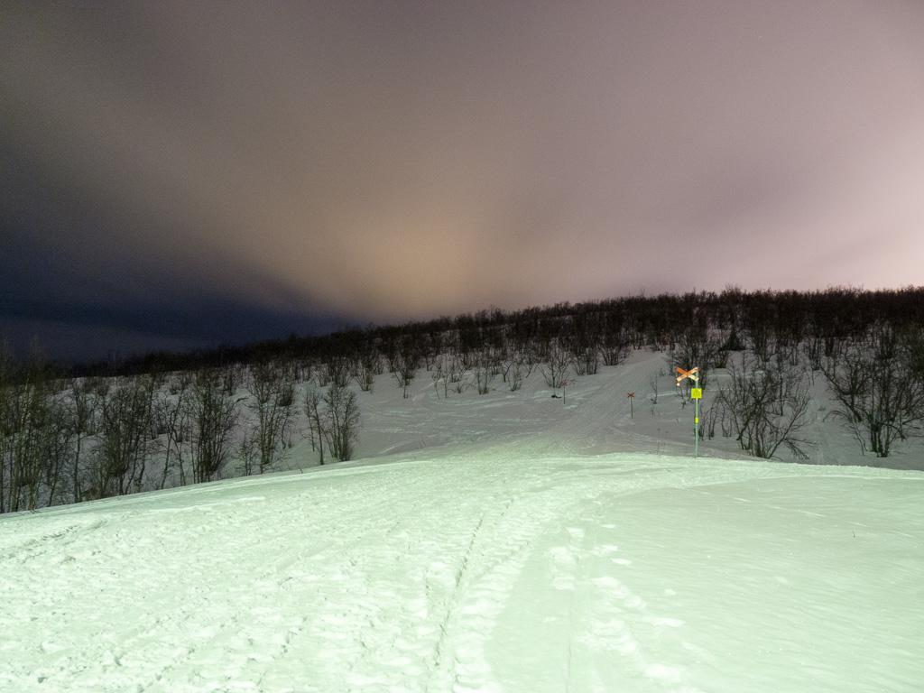 Tag 20: Nachtspaziergang in Kiruna