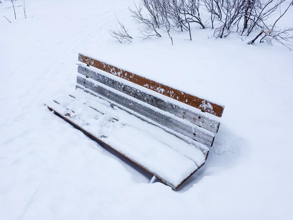 Tag 21: Spaziergang in Kiruna