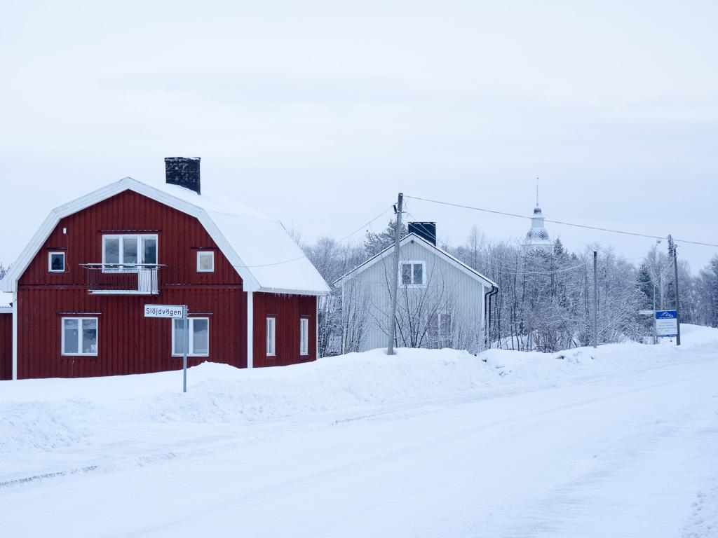 Tag 22: Spaziergang durch Jukkasjärvi