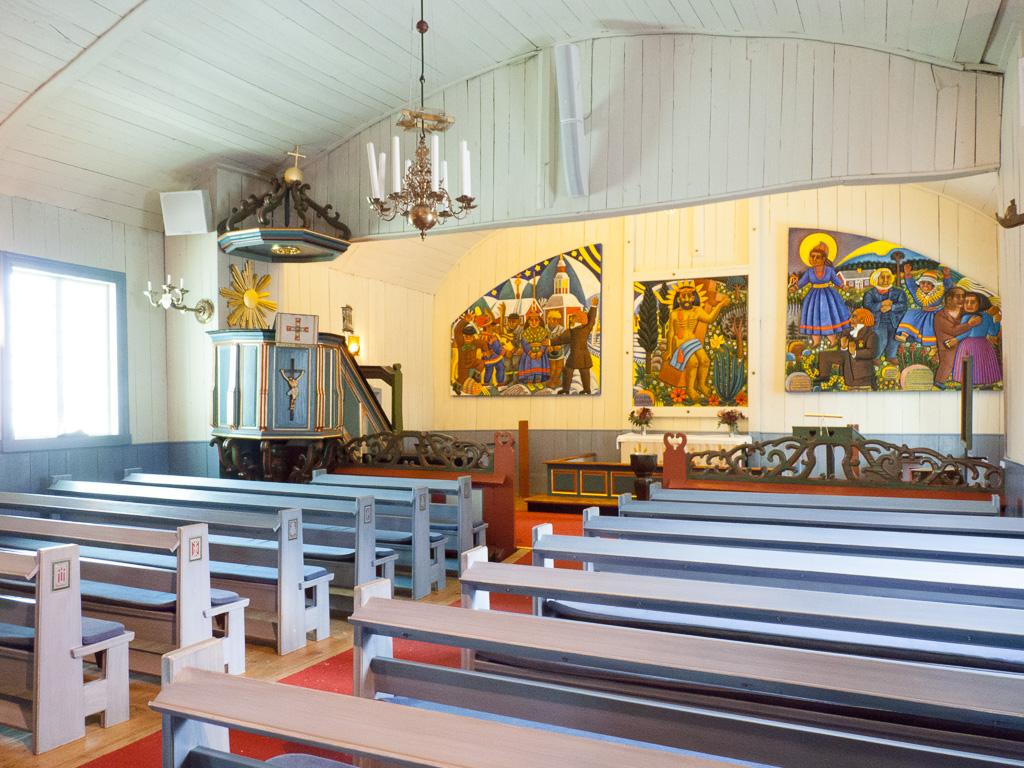Tag 22: Kirche von Jukkasjärvi