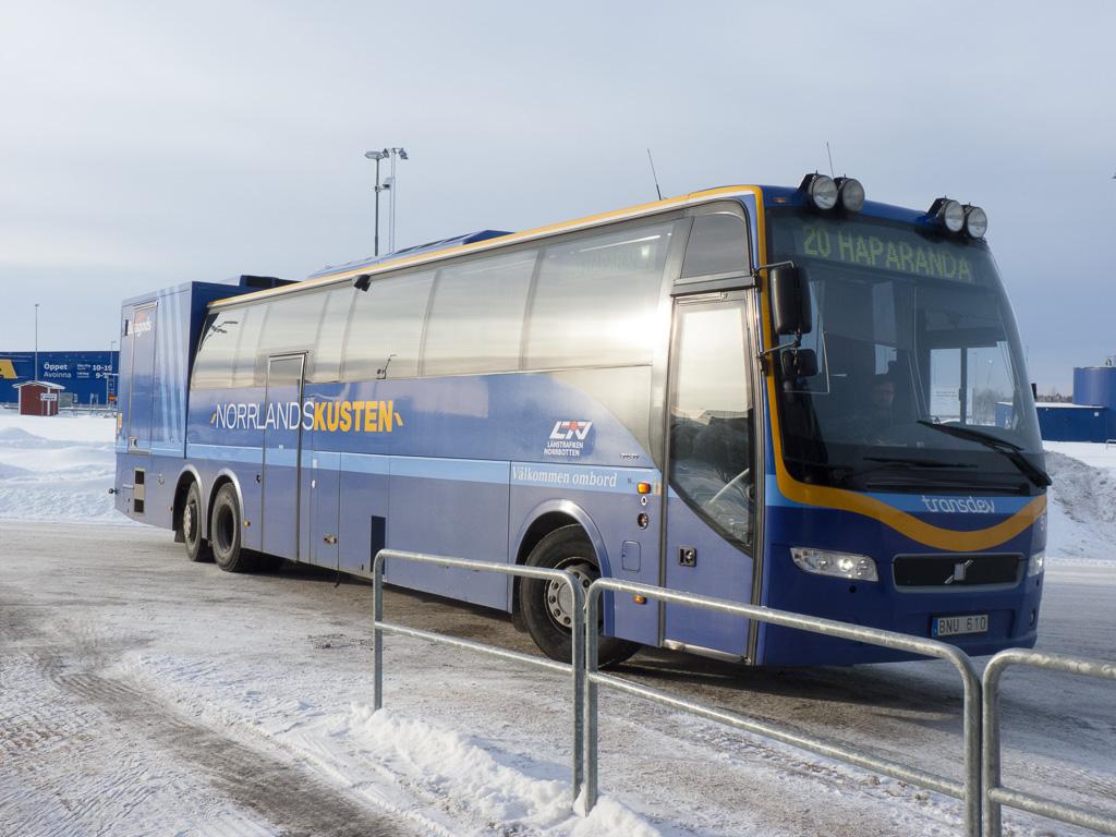 Tag 23: Im Bus nach Haparanda/Tornio