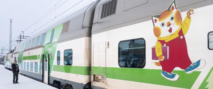 Tag 23: Mit Bahn, Bus, Bus & Bahn nach Finnland