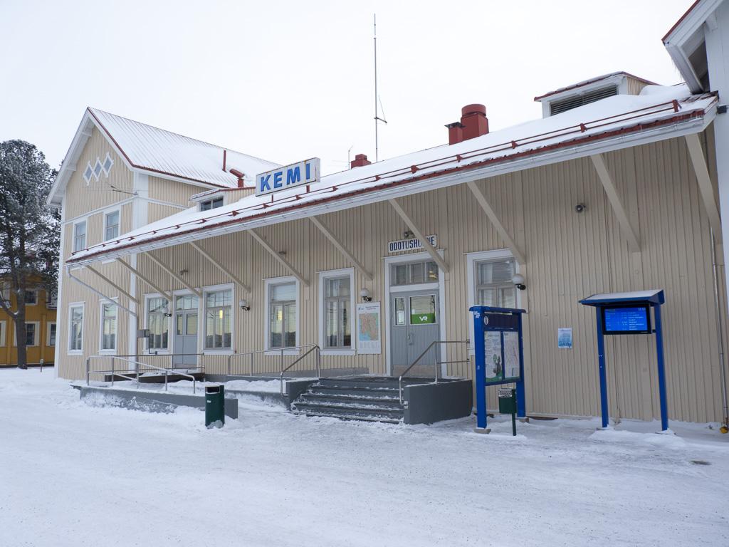 Tag 23: Fahrt nach Kemi und Ankunft am Bahnhof