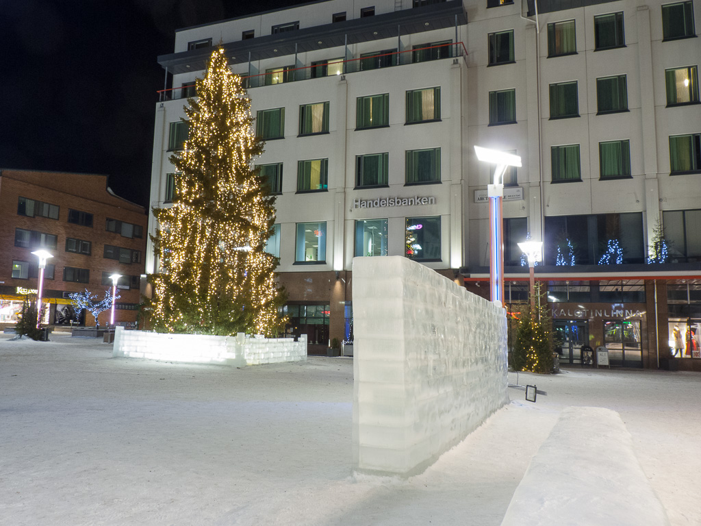 Tag 23: Nächtliche Impressionen aus Rovaniemi