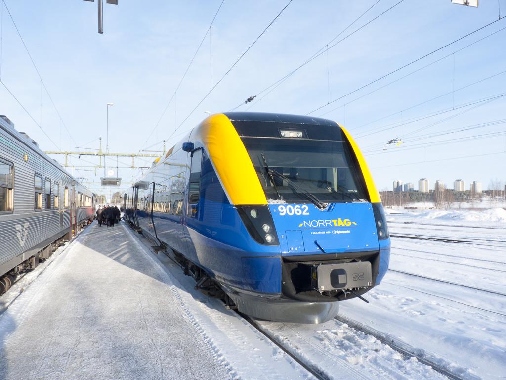 Tag 23: Ankunft und Warten in Luleå