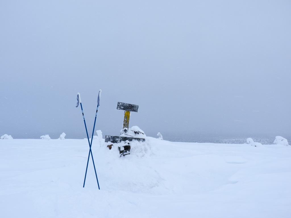 Tag 27: Auf dem Tag 27: Aufstieg zum Jorpulipää
