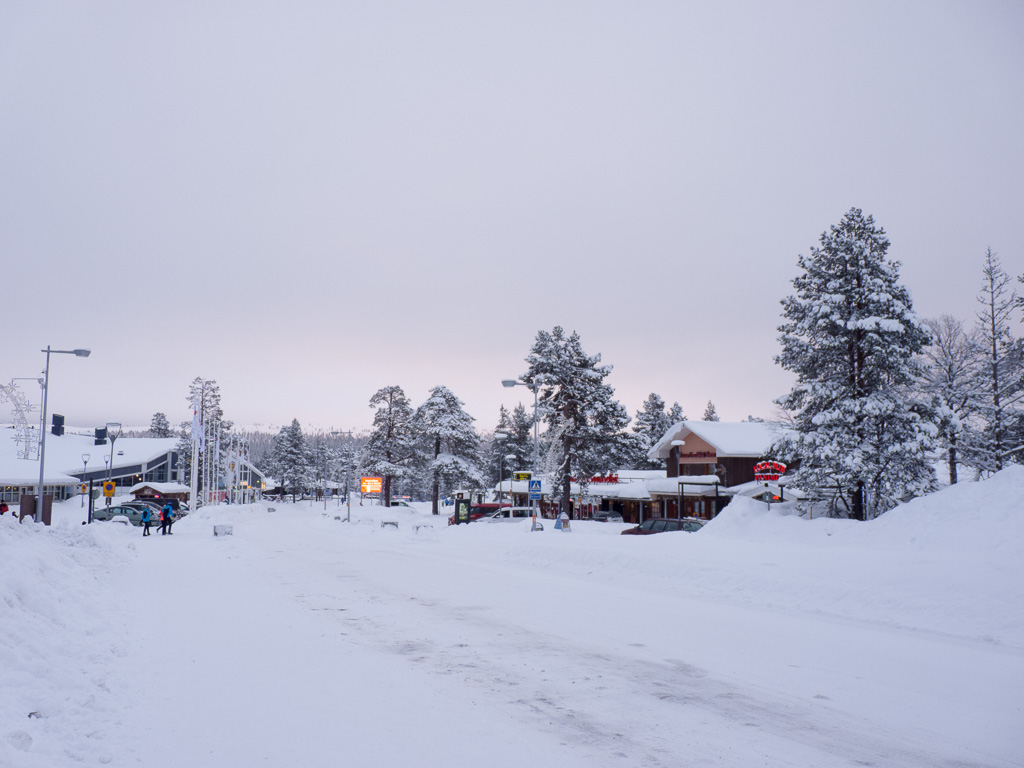 Tag 28: Abend in Saariselkä