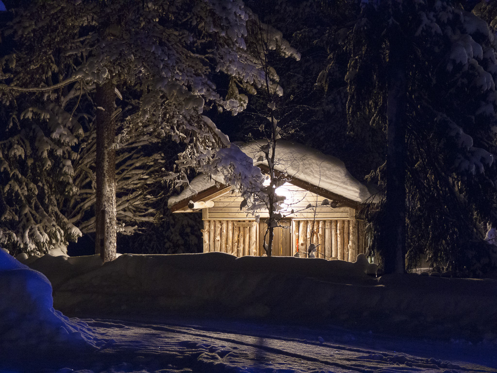 Tag 29: Tankavaara in der Nacht