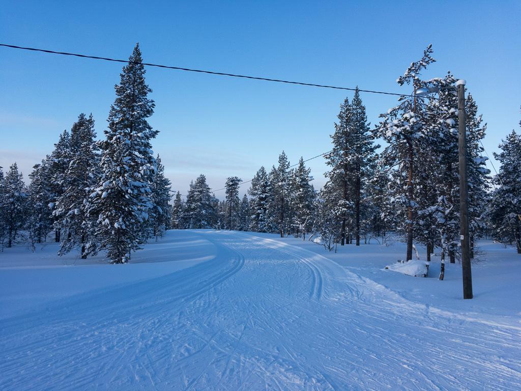 Tag 30: Langlaufen in Saariselkä