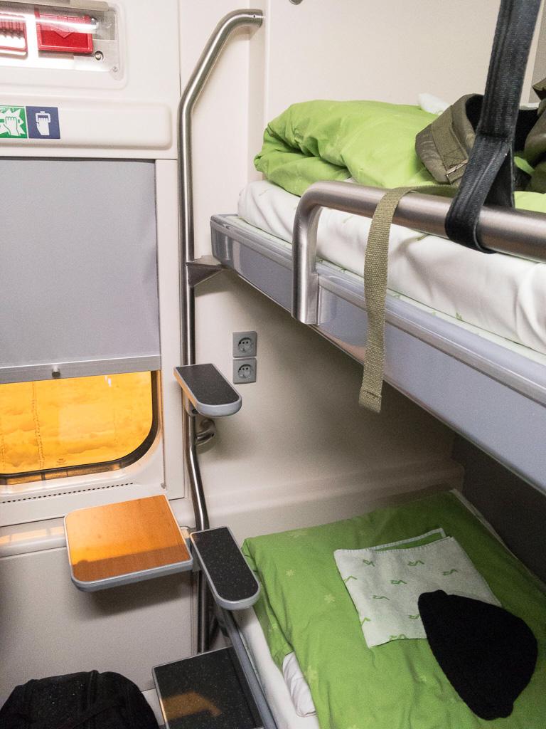 Tag 31: Impressionen vom finnischen Nachtzug
