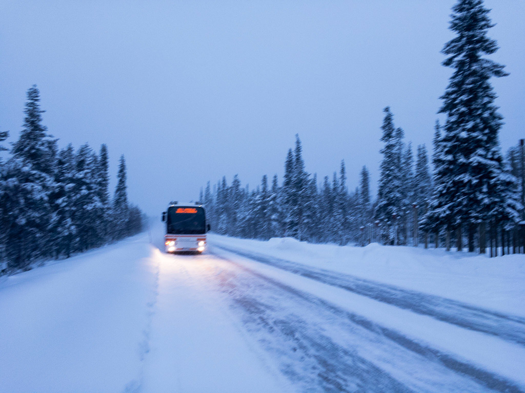 Tag 31: Busfahrt nach Rovaniemi