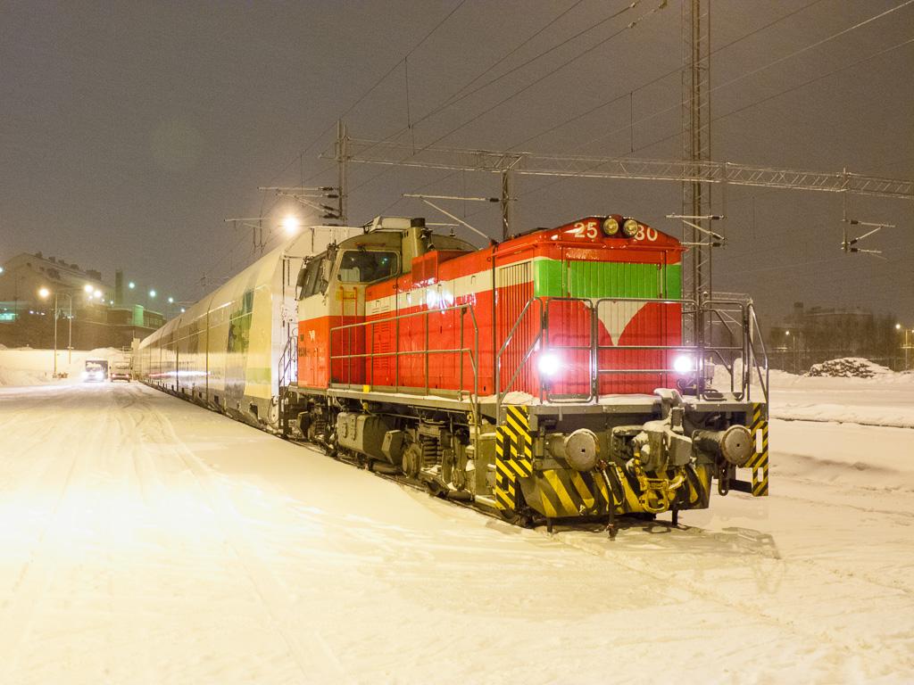 Tag 31: Warten auf den Nachtzug in Rovaniemi