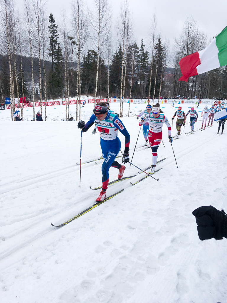 Tag 32: Langlauf-Staffel der Damen