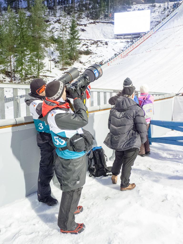 Tag 32: Skispringen von der Großschanze