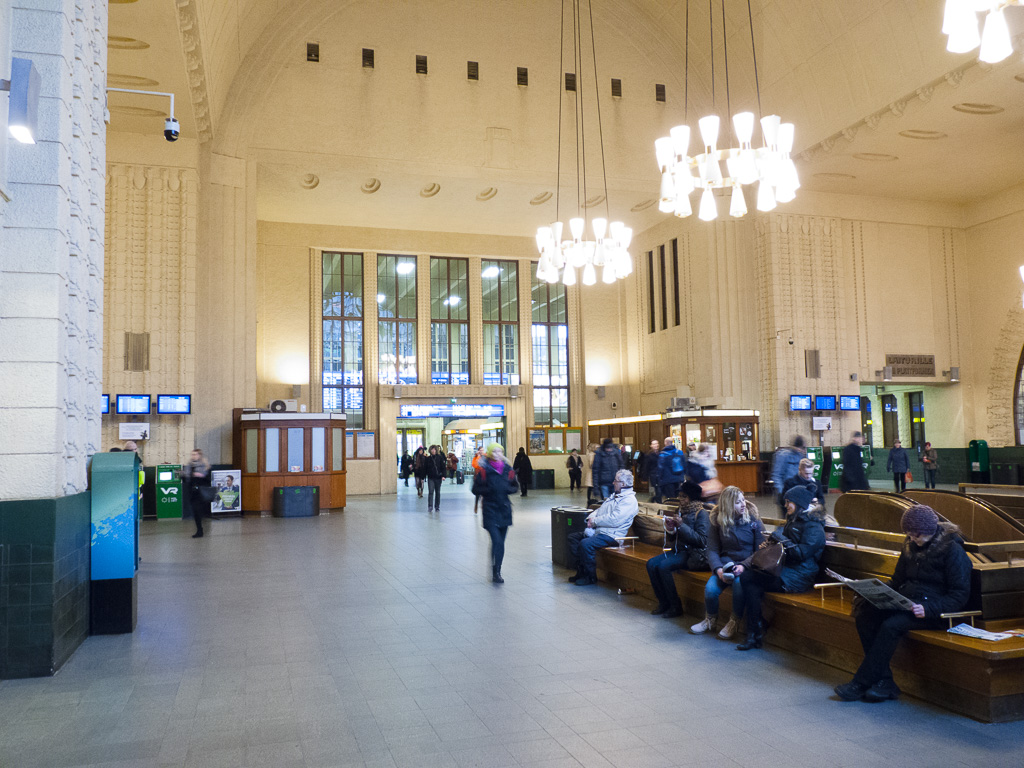 Tag 32: Umstieg in Helsinki