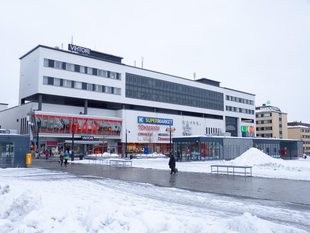 Tag 33: Im Zentrum von Kuopio