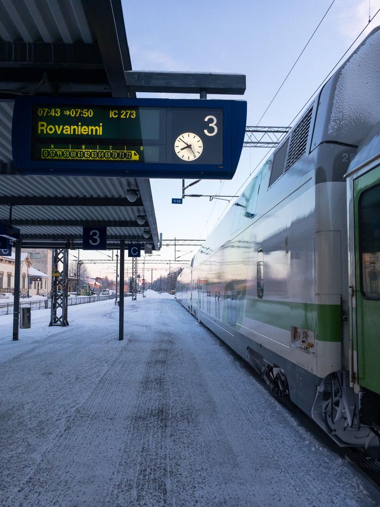 Tag 33: Ankunft und Wartezeit in Oulu