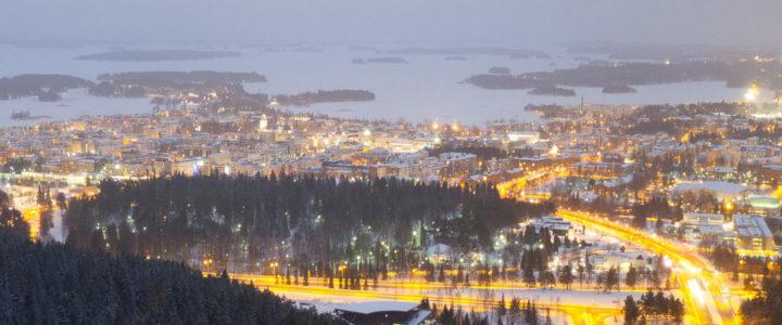Tag 33: Über den Dächern von Kuopio