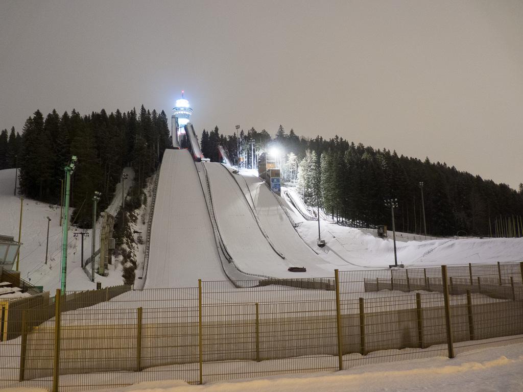 Tag 33: Skisprungschanzen von Kuopio