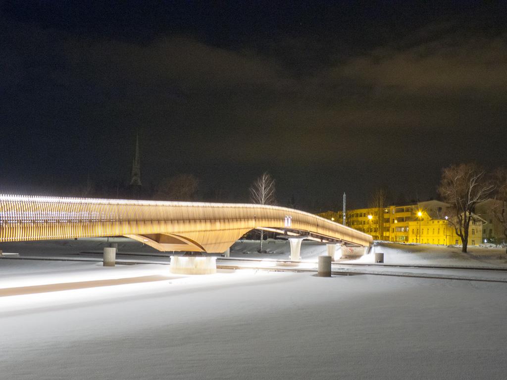 Tag 34: Nachtaufnahmen aus Joensuu