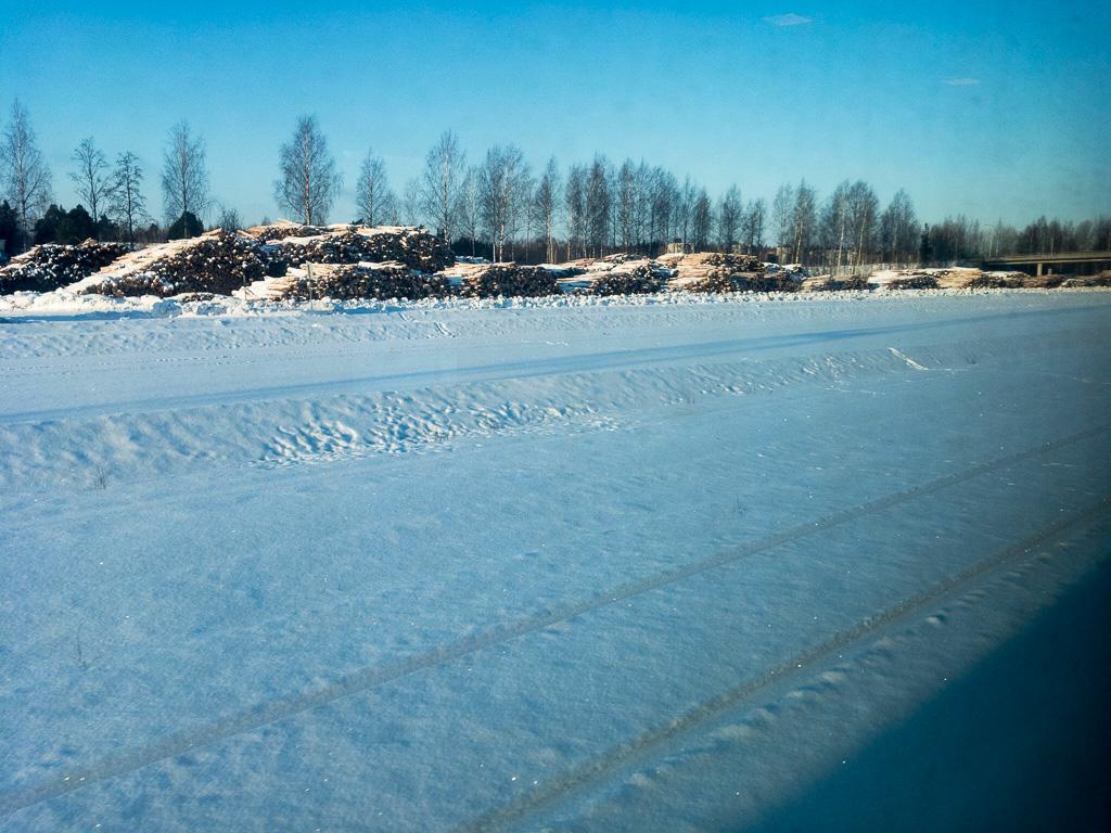 Tag 35: Mit dem Regionalzug nach Pieksämäki