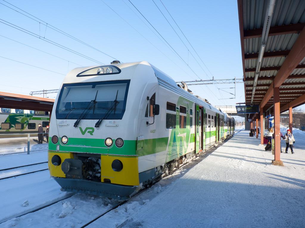 Tag 35: Umstieg in Pieksämäki