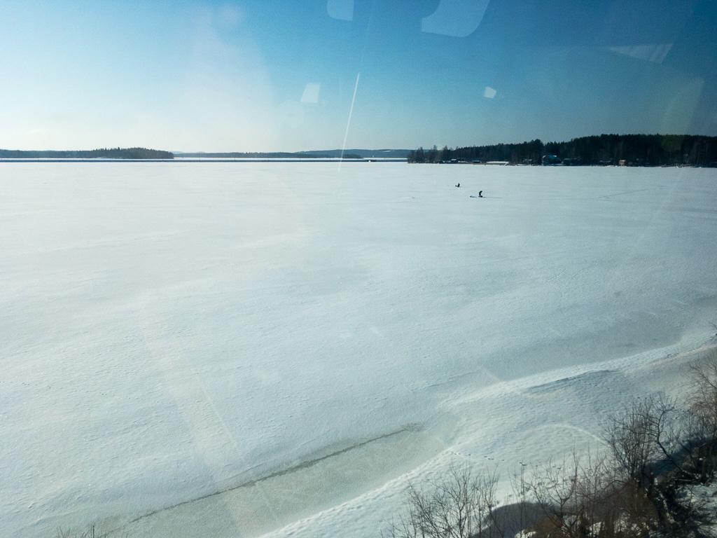Tag 35: Im mobilen Büro nach Tampere
