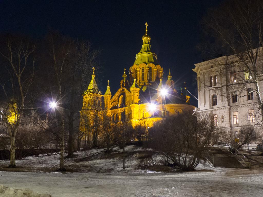Tag 36: Nächtlicher Gang durch Helsinki