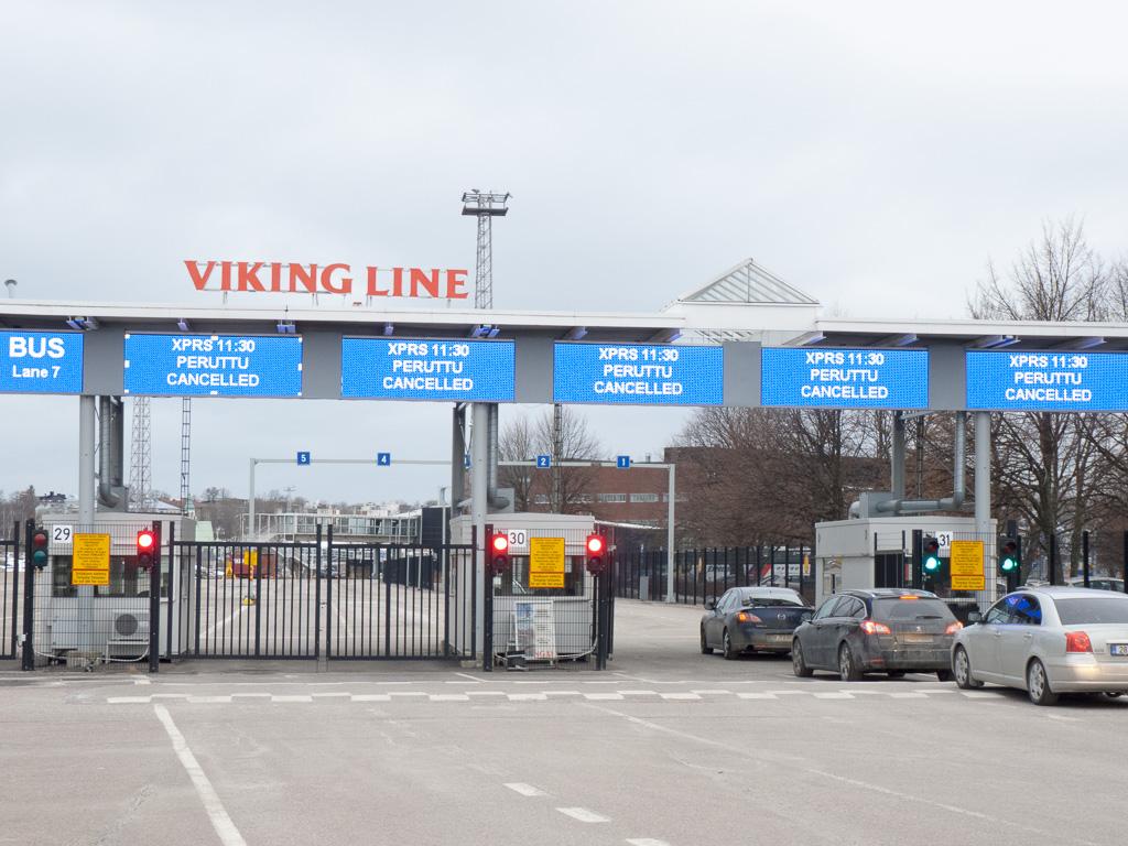 Tag 37: Fährausfall am Viking-Terminal