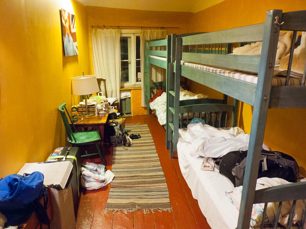 Tag 37: Im Hostel