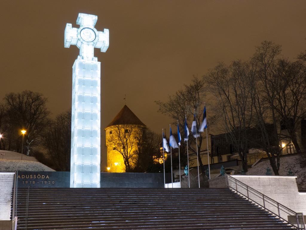 Tag 37: Nächtlicher Rundgang durch Tallinn