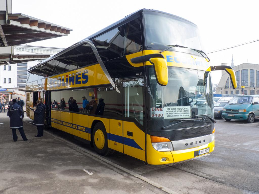 Tag 40: Abfahrt mit dem Doppeldecker-Bus