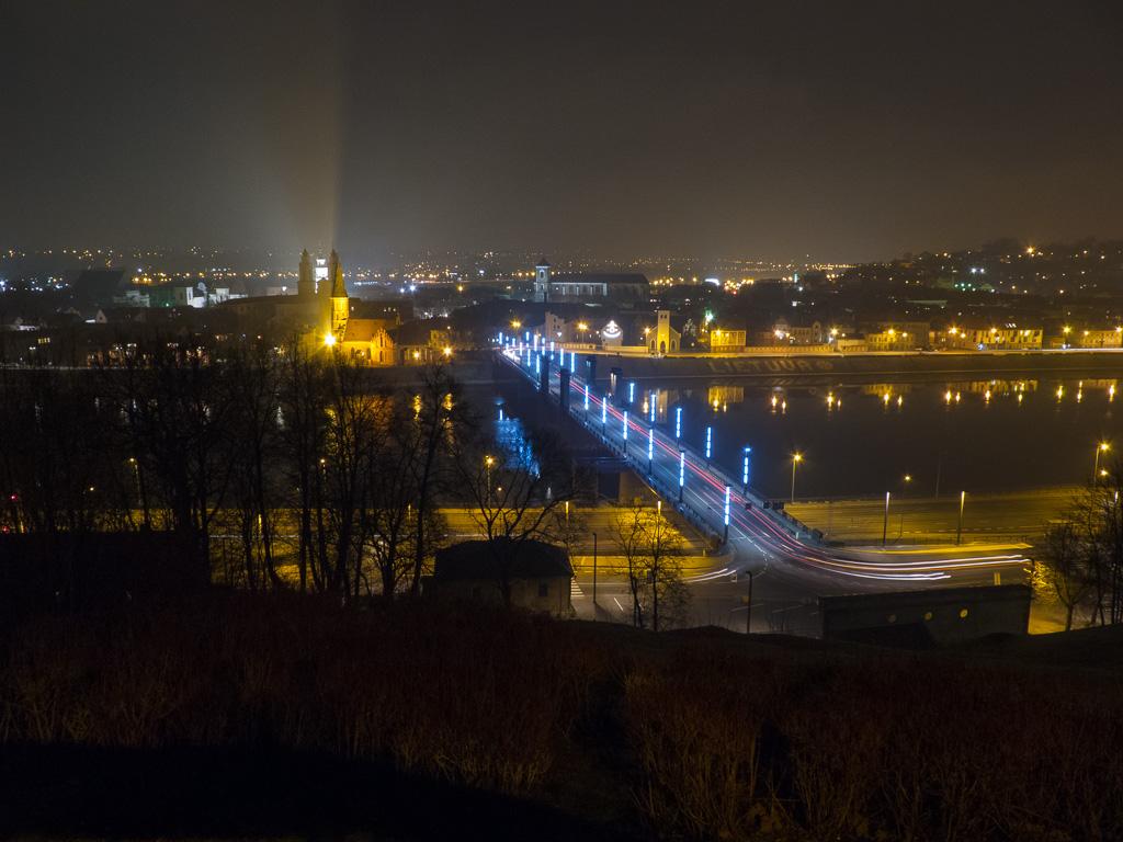 Tag 40: Nächtlicher Gang durch Kaunas