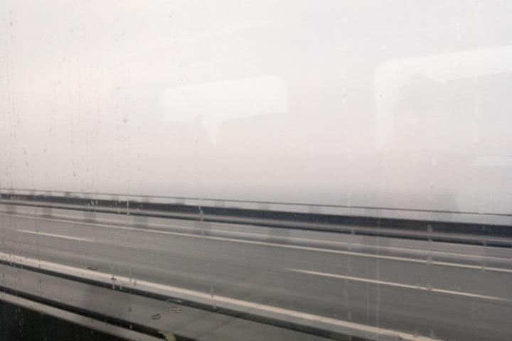 Auf der Brücke über den Großen Belt (Storebælt)
